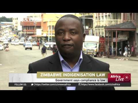 Zimbabwe says compliance with indeginization law still low