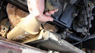 Comment remplacer le radiateur sur Citroën AX