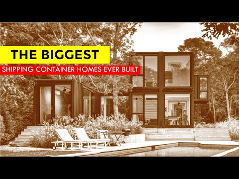 The Biggest Shipping Container Homes Ever Built in USA