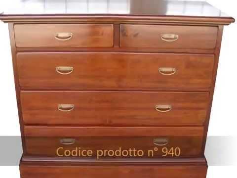 Como\' comodini artigianali classici arte povera in stile legno ...