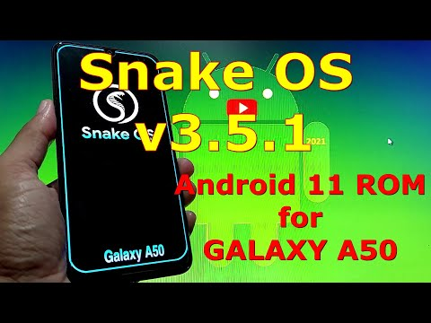 Snake OS v3.5.1 Custom ROM for Samsung Galaxy A50 Android 11 One UI 3.1