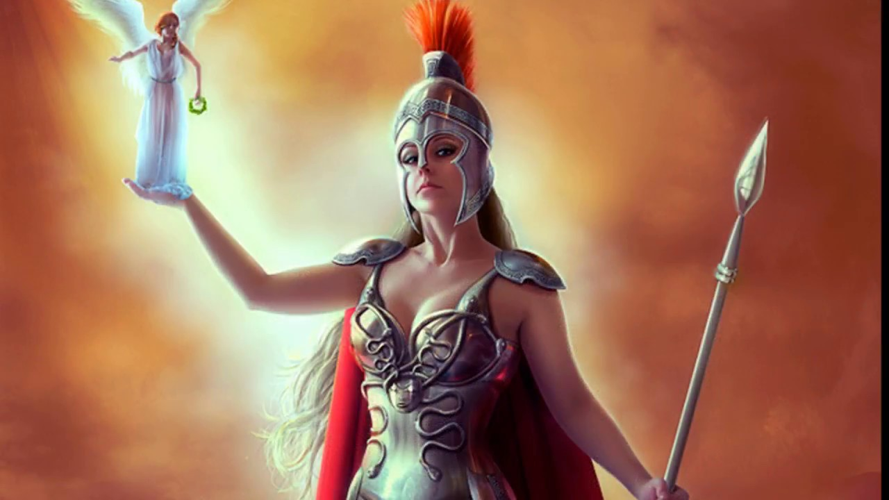 Sexy nude warrior woman fantasy art wallpaper