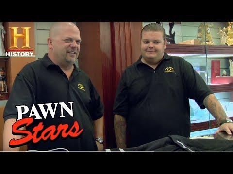 Pawn Stars: Ryan Newman's NASCAR Race Suit  History