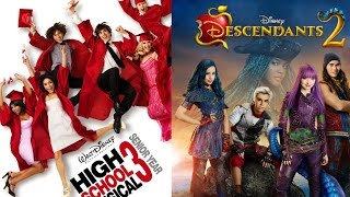 High School Musical 3 & Descendants 2 - Now Or Never & Ways To Be Wicked - Mashup