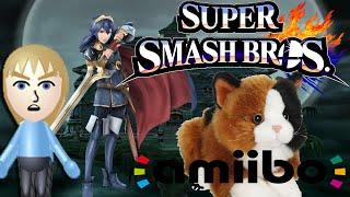Super Smash Bros. l Amiibo TEST (Wie funktioniert der shit?? HELP!)