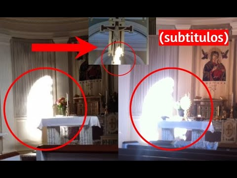 Virgin Mary Apparition Caught on Camera (2 Photos)