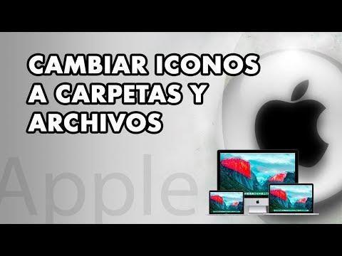  Cambiar ICONOS a carpetas y archivos en ordenadores Mac