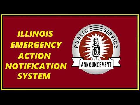 RADIO PSA - ILLINOIS EMERGENCY ACTION NOTIFICATION SYSTEM