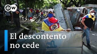 El presidente colombiano descalifica las protestas ciudadanas