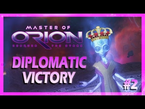 Master of Orion - PSILON DIPLOMATIC VICTORY(Funny Moments Montage)