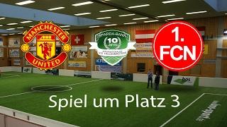 Spiel 45: Manchester United 0-4 1. FC Nürnberg │U12 Hallenmasters TuS Traunreut 2017
