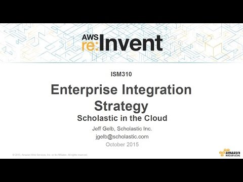 AWS re:Invent 2015 | (ISM310) Scholastic