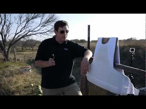 Testing a Level II Bulletproof Vest