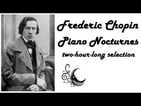 Frederic Chopin  Nocturnes in 432 Hz 2 hours for sleeping, reading or studying