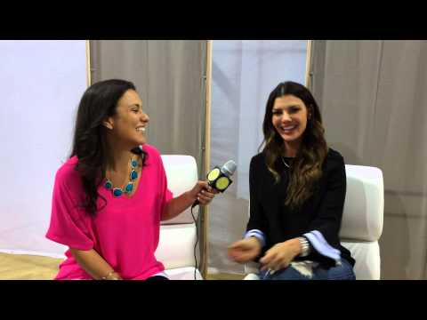 Ali Landry Exclusive Interview at ABC Kids Expo for Celebrity Baby ...