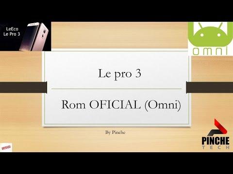 Le pro 3 - Omni Rom (OFICIAL) - Ótima notícia