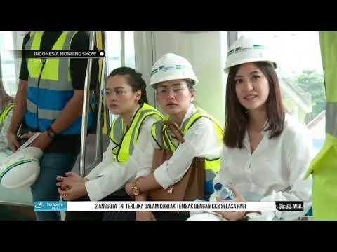 MRT Jakarta Undang Beberapa Influencer Untuk Mengikuti Uji Coba MRT   IMS