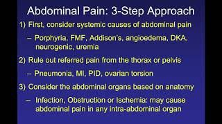 Abdominal Pain: The Saint-Chopra Guide to Inpatient Medicine, 4th Edition