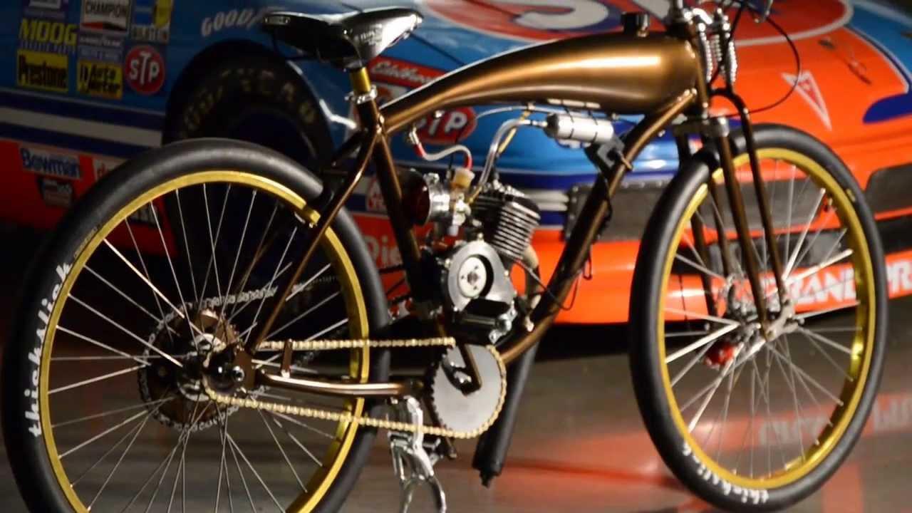 Motodromo Cycles Custom Motorized Bicycles Youtube