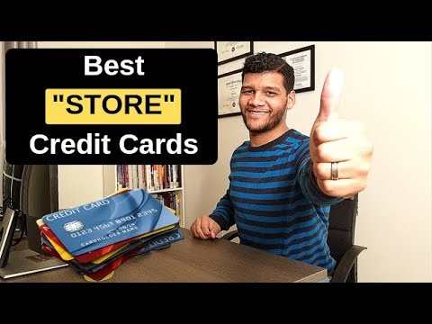 Best STORE Credit Cards For 2019