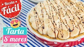 tarta s mores   chocolate con marshmallows o malvaviscos   quiero cupcakes