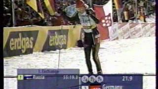 Чемпионат мира 2005, Hochfilzen, эстафета женщины