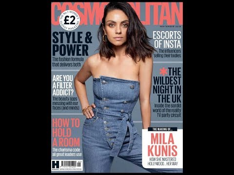 Cosmopolitan UK Magazine - Sept 2018 || Fashion, Beauty, Sex tips and Celebrity news