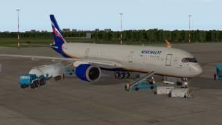 XP10 Airbus 350-900XWB (FlightFactor) - керівництво по виконанню польоту 1 ч.