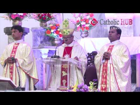 Christmas Mass At  St .Joseph's Cathedral  Gunfoundry 25-12 2013 HD