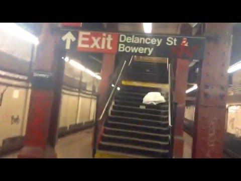 Abandoned Bowery Station