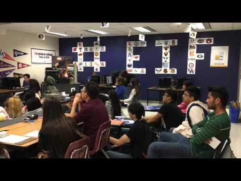 2016-2017 Student Kick Off Meeting at Emmett J Conrad High School in Dallas