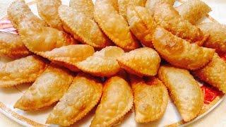 Diwali Special---&quot KARANJI &quot  GUJIYA recipe (दवल Special करनज  गजय Recipe)