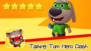 Talking Tom Hero Dash Run Game Day70 Walkthrough Whacky Winter Recommend index five stars