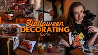 Halloween Decorate With Me! Easy DIY & Affordable Decorations
