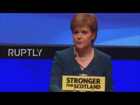 UK: Draft bill on second Scottish independence referendum ready next week - Sturgeon