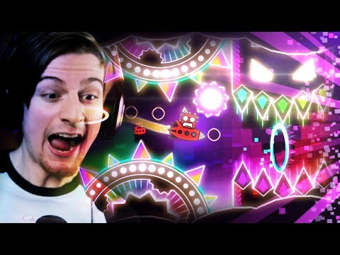 THIS LEVEL IS BEAUTIFUL!!! || Geometry Dash (Part 16)