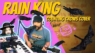 Rain King by Counting Crows   Risky Biscuit Band - Full Band Cover - Twitch Stream Clip