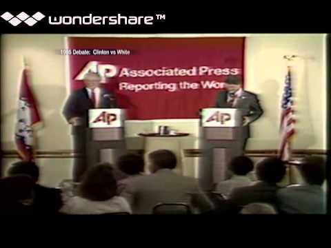 Bill Clinton and Frank White 1986 Debate