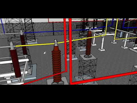 Electrical Substation Working in Hindi