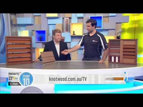 Knotwood Studio Ten TV Segment