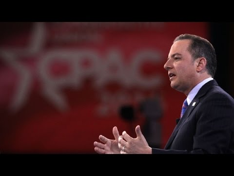 RNC Chair Priebus discusses Trump-Pence split on Iraq and...