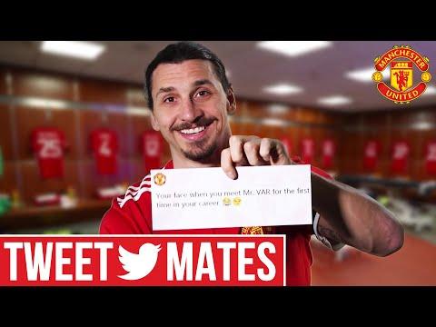 Zlatan Ibrahimovic   Tweet Mates   Manchester United