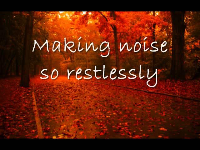Autumn Leaves - Paolo Nutini (Lyrics)