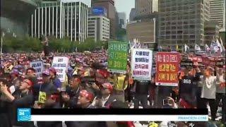 مظاهرات حول العالم في عيد العمال