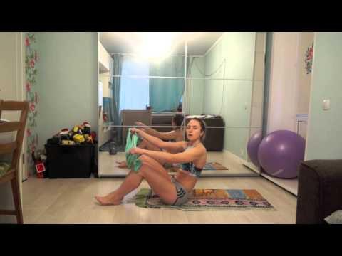 Фитнес для похудения — комплекс упражнений с лентой