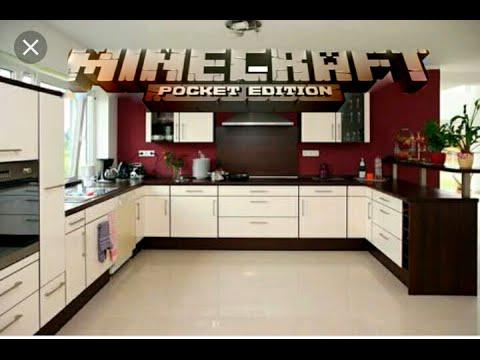 Como Hacer Una Cocina En Minecraft Pe 13 1 Youtube