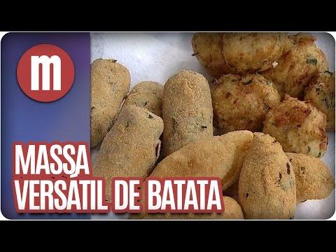 Mulheres - Massa versátil de batata (02/05/16)