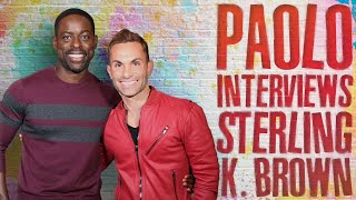 Emmy Winner Sterling K. Brown in a Heartfelt & Fun Interview!