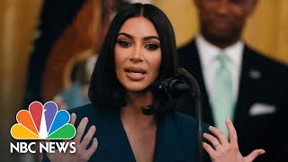 Watch Kim Kardashian West's Full White House Speech On Prison Reform | NBC News