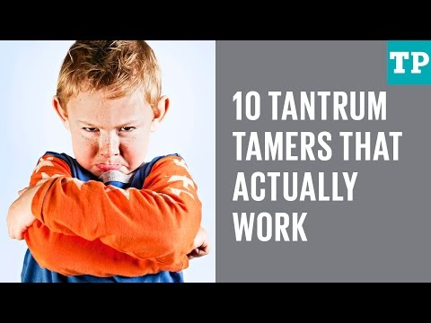 10 tricks for stopping a temper tantrum